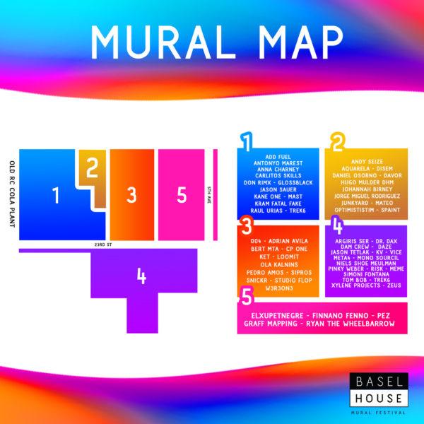 Artist Mural Map